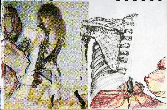 Decadent Conceptual sketch by Anne Annabelle Jones