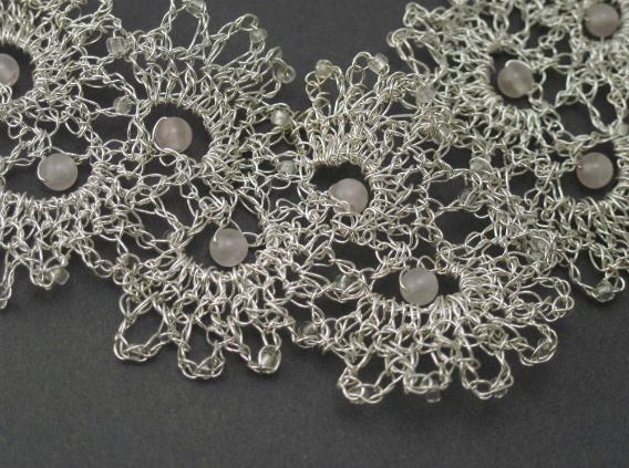 Neck Lace detail by Anne Annabelle Jones