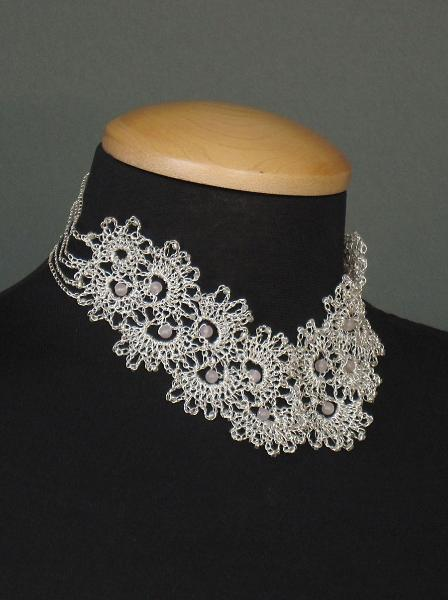 Neck Lace Necklace by Anne Annabelle Jones
